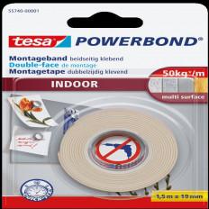 55740 ленты TESA бренд сильным интерьер блистер 1, 5MT x 19 мм