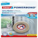 55743 cinta adhesiva de doble cara TESA marca en blister transparente fuerte 1,5MT x 19 mm