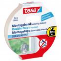 55743 Двухсторонняя клейкая лента TESA бренд в сильный прозрачный бл