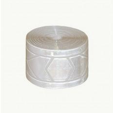 Fita de costura refletiva micro prismática branca Reflexite® GP