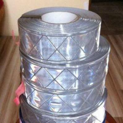 Láminas reflectantes que reflejan las tiras de cosen 50 mm x 2 M alta calidad