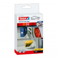 Cinta adhesiva de velcro para superficie interior de coche TESA