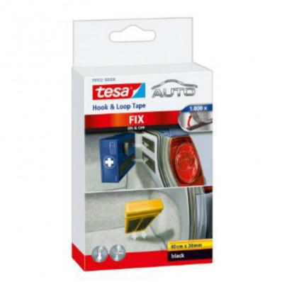 59952 TESA strisce in velcro Auto Fix
