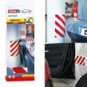 Protezione imbottita adesiva 59942 TESA da parete per proteggere auto da colpi