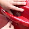 Transparente Schutzfolie für die Portire behandelt Auto anti-Kratzer 4 Stk.