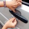 Película protectora transparente para la portire encarga de auto anti scratch 4 PCs.