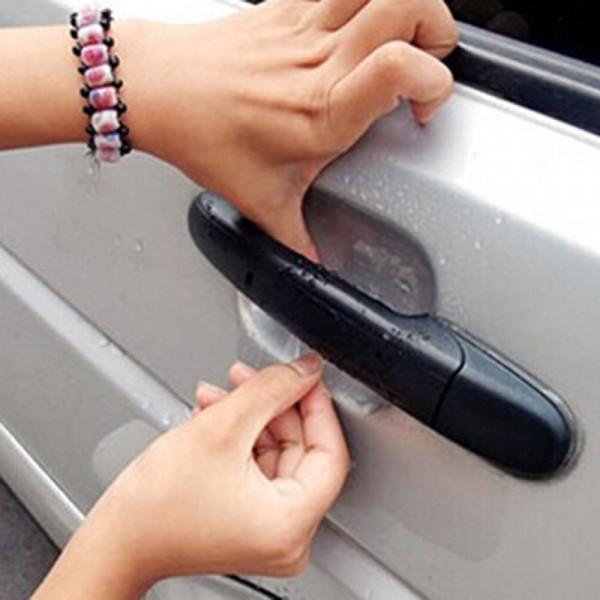 Protectores de manilla para puerta de coche transparentes 4 unidades