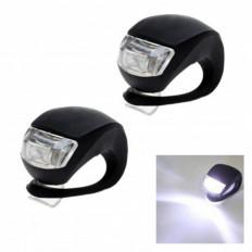 2 Lampes LED de Vélo en silicone impermeable vente en ligne