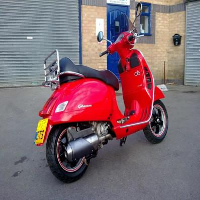 Strisce Scooter vespa motorino adesive cerchi rifrangenti riflettenti marca 3M™stripe for wheel 6mm x 7MT