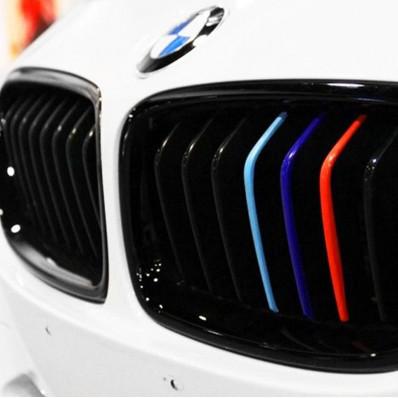 Pvc rejilla raya las etiquetas engomadas adhesivas 3 m ™ para BMW M3 E46 E39 E90 X 3 X 5 X 6 1 5 3 6