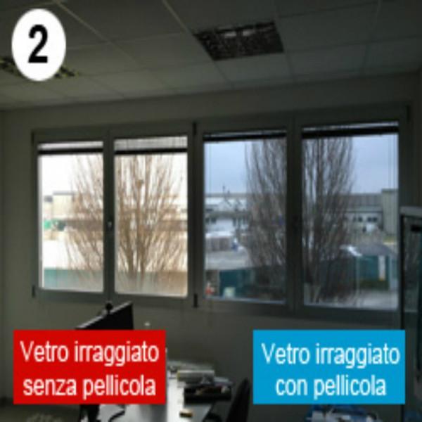 Pellicola oscurante nero antigraffio per finestre casa o - Pellicola oscurante vetri casa ...