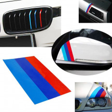 Bonnet/Bumper M3 PVC Stickers for BMW Series E39 E46 E90 X3 X5
