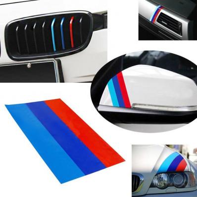 Selbstklebende pvc Gitter Streifen Aufkleber 3 m ™ für BMW M3 E46 E39 E90 X 3 X 5 X 6 1 5 3 6