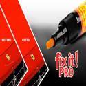 FIX, PRO marcador mágico eliminar arañazos reparación coche cuerpo motocicleta signos