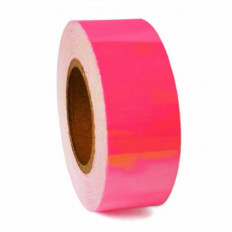 3 m™ la película adhesiva fluorescente de cinta rosa alta visibilidad de 25/50 mm