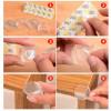 10x Paraspigoli Angolari Rotondi Silicone Protezione Tavolo Bambini Sicurezza