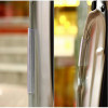 Borda de porta de carro para corpo de borracha preto adesivo universal Salvaporta protetor 3MT