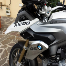 2 Adesivi rifrangenti riflettenti materiale 3M™ Moto BMW R1200 LC GS