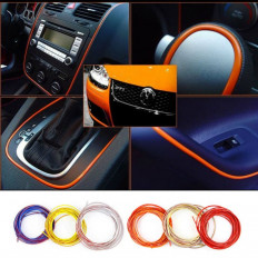 Car stripe Decoration Thread Stickers Auto Styling indoor pater Interior Exterior Body Modify Decal