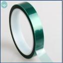 Cinta adhesiva verde en silicona de enmascaramiento para pintura - 66mt