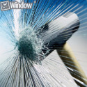 Auto glass protection film or burglar proof Windows
