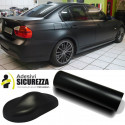 matt schwarz Klebefolie für Car Wrapping und Tuning-Autos und Motorräder. Kratzer
