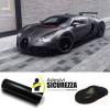 Pellicola adesiva NERO OPACO car wrapping tuning auto moto ANTIGRAFFIO