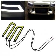 2 белый автомобиль туман света лампы для DC12V Светодиодные