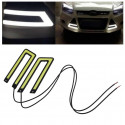 2 white car fog light Lamp for LED COB DC12V