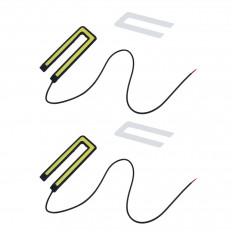 2 farois de nevoeiro brancos LED COB venda on-line