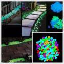 Piedras brillantes gotas de foto-luminiscente color blanco de resina para muebles de 50/100