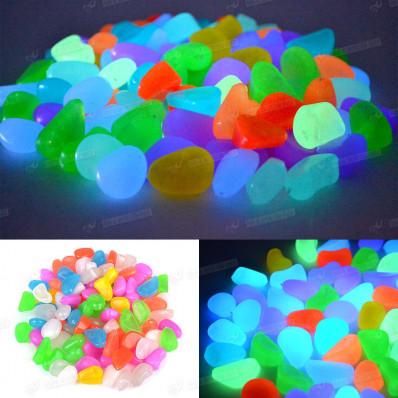 Pedras brilhantes gotas de cor branca foto-luminescentes de resina para 50/100 partes de mobília