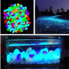 Pierres lumineuses gouttes de couleur blanc photoluminescent de résine pour 50/100 pièces de mobilier