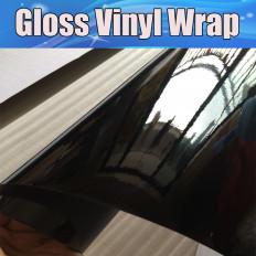 Pellicola adesiva nero lucido per car wrapping e tuning auto e