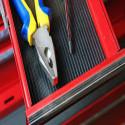 Goma antideslizante recubrimiento casetes de cinta acanalada rayas