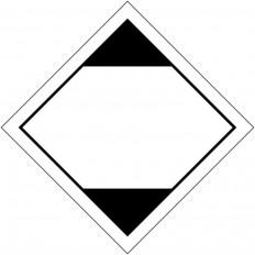 """Placa de advertência transporte de """"quantidades limitadas"""