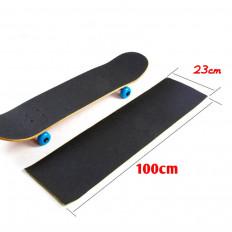 черный не скользит покрытие листа heskinst скейтборда и сноуборда 230мм х 1м
