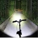 Torcia per bici con 5 LED ad alto fascio di luce