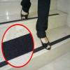 Films adhésifs anti-dérapant bandes escaliers extérieurs sols intérieurs noir 25 ou 50 mm