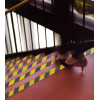 Streifen Klebefolien gelb-schwarz rutschfeste Trittstufen und