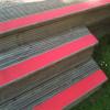 Des bandes de films adhésifs anti-dérapant plancher anti-dérapant fluorescent jaune moto vélo 25 mm balances
