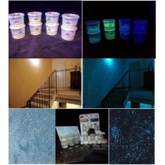 Акрил фосфоресцентный светящиеся добавки светится в темноте для хобби