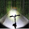 5 luz led con laser 2 para lámpara de señal trasera de bicicleta de bicicleta