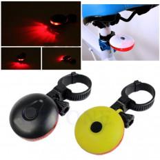 Luz indicadora de mudança de direção LED para bicicleta em três