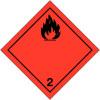 """Etiquetas de señalización para el transporte internacional """"líquido inflamable"""" ADR"""