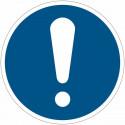 ИСО 7010 обязательства подписывает «Общие обязательства»-M001