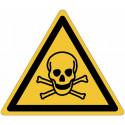 Знаки опасности ISO 7010 «токсичные материалы»-W016