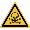 """Cartelli di pericolo ISO 7010 """"Materiali tossici"""" - W016"""
