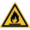 """Cartelli di pericolo ISO 7010 """"Materiali infiammabili"""" - W021"""