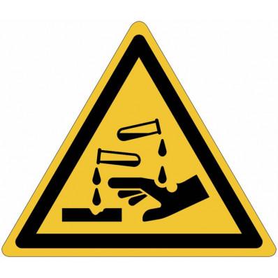 ISO 7010 знаки опасности «коррозионное»-W023 онлайн продажа